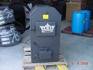 Royall C8150 Indoor Wood or  Coal Furnace