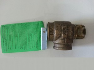 Pressure Relief Valve for Royall Stoves